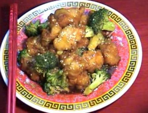 Sesame chicken
