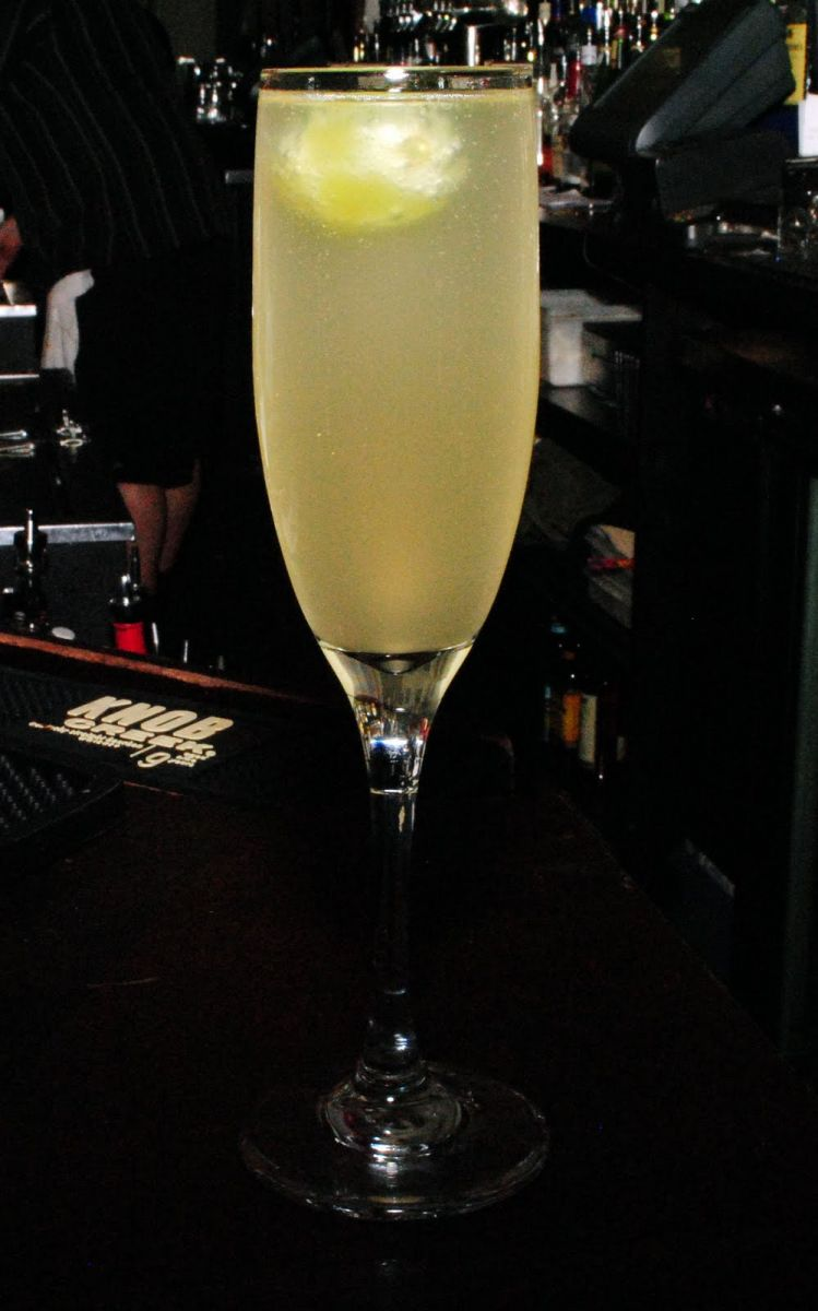 Honey Grape Cocktail
