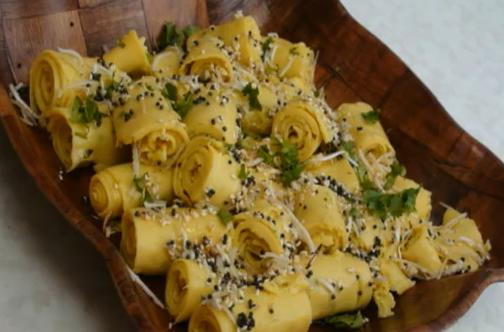 KhandviSurali Wadi Or Suralichi VadiGujarati Cuisine Recipe