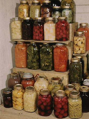 Preserved vegetables can be enjoyed all year round