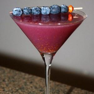 Blueberry Garnish