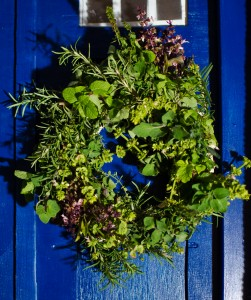 mint wreath