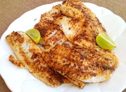Blackened fish recipe video by c4bimbos for Wegmans fish fry