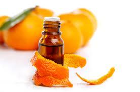 Orange oil for hair