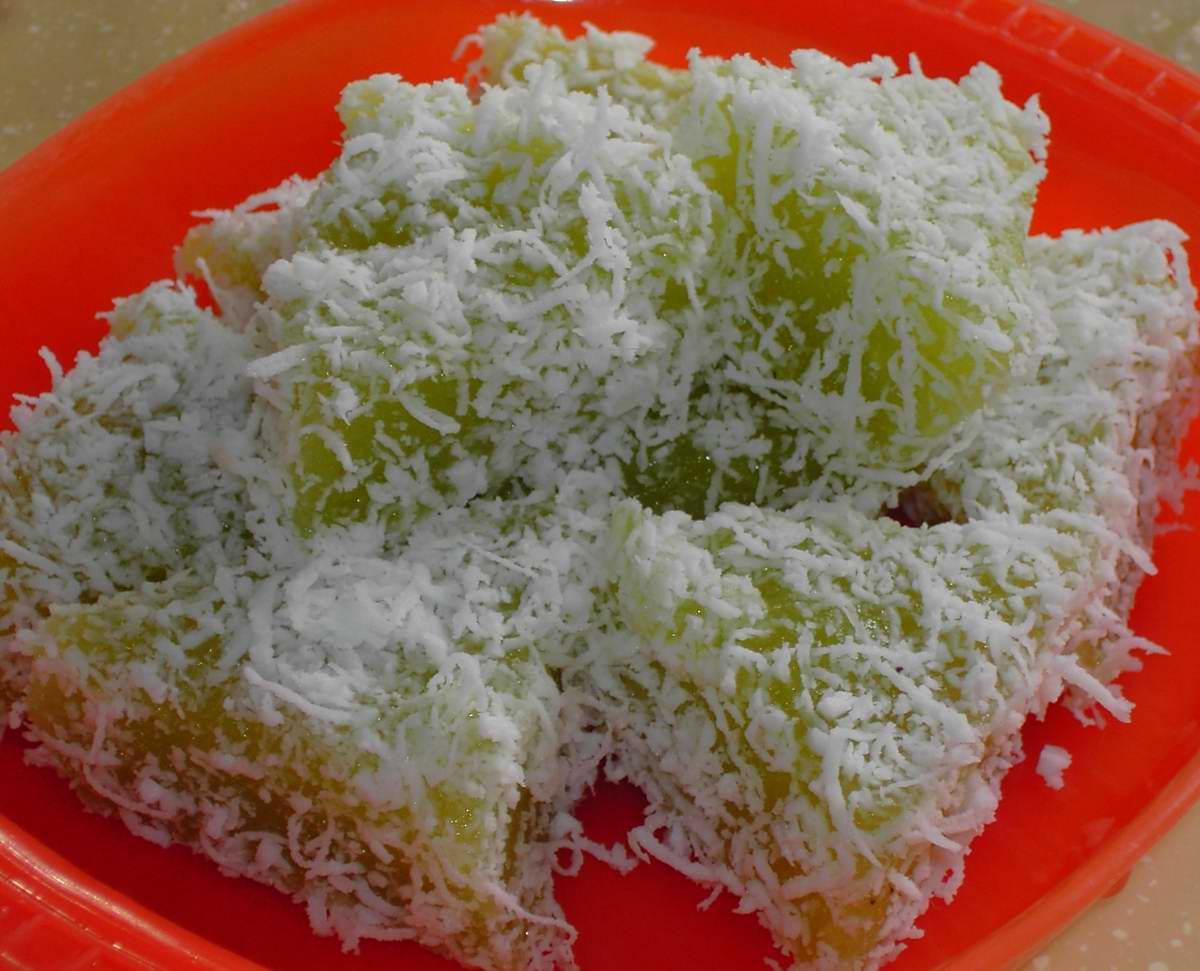 Delicious steamed tapioca
