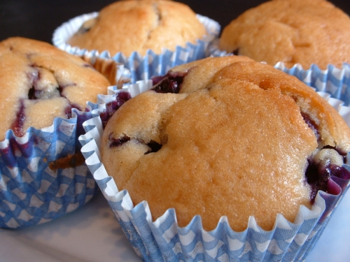 Blueberry Muffins - Tasty Easy Party Menu Desserts