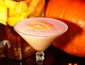 Pumpkin Puree Garnish