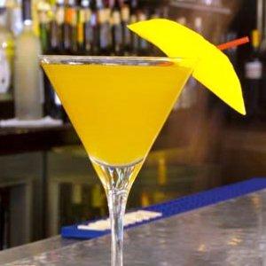 Mango Slice Garnish