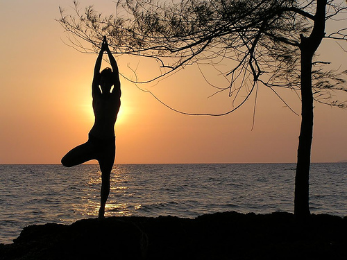 natural remedies to uplift your mood, in a yogasana