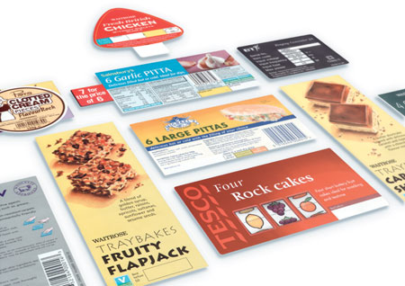Food labels appear in food packs - offering every kind of information required by users