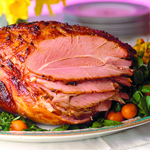 Cook whole ham