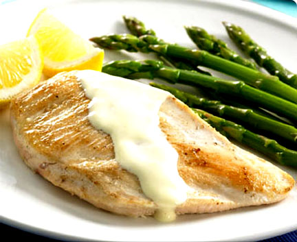 Chicken With Asparagus Recipe by Pamster | iFood.tv