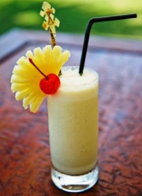 Pineapple Garnish