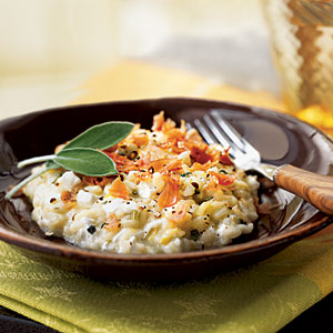 Saffron and Sage Risotto