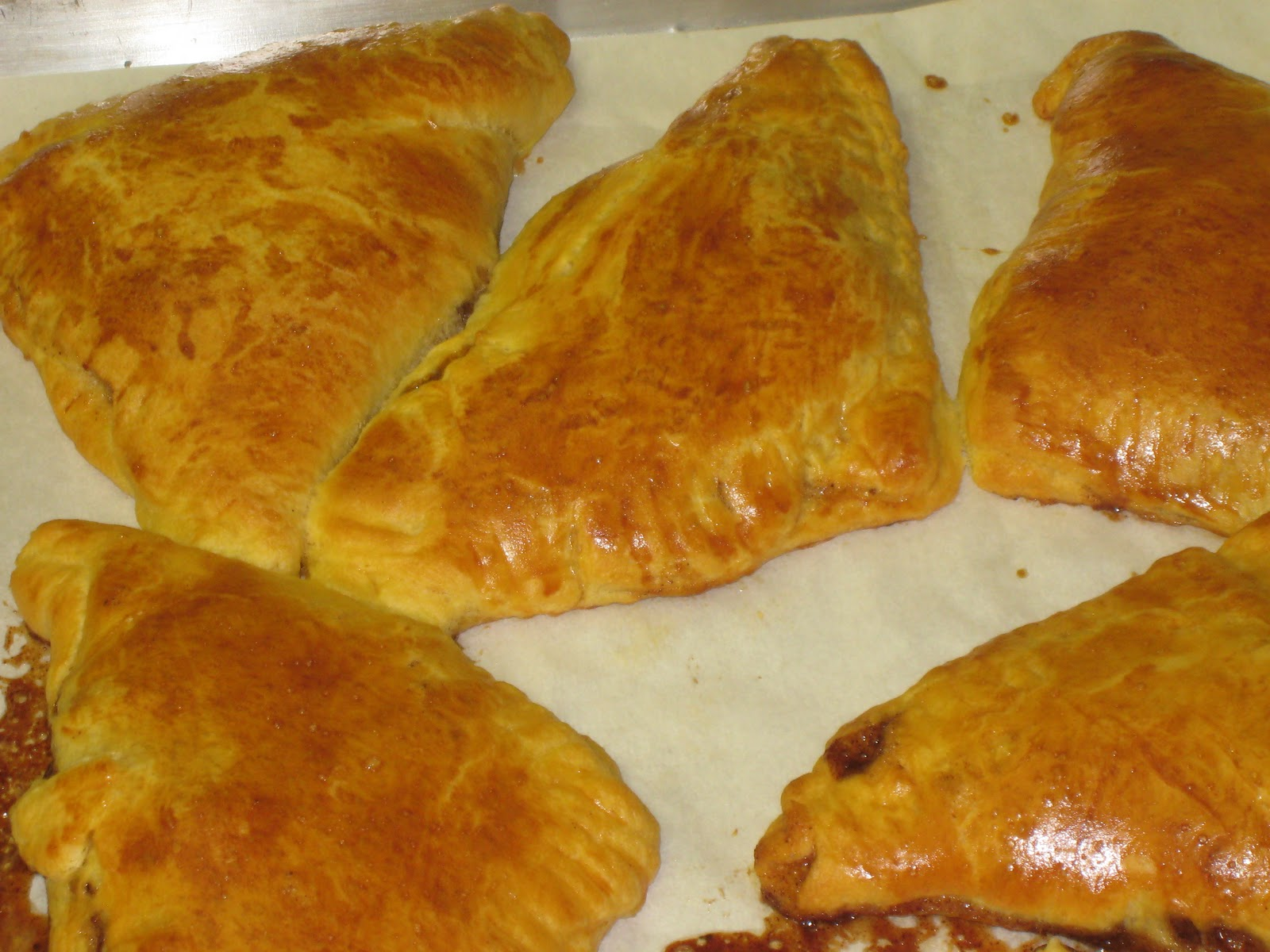 Delicious apple turnovers