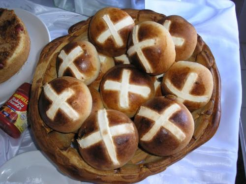 Fruity Hot Cross Buns