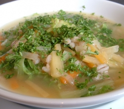 chicken soup for cold cure