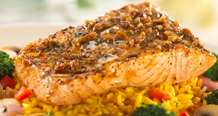 Salmon - best foods for healthy skin