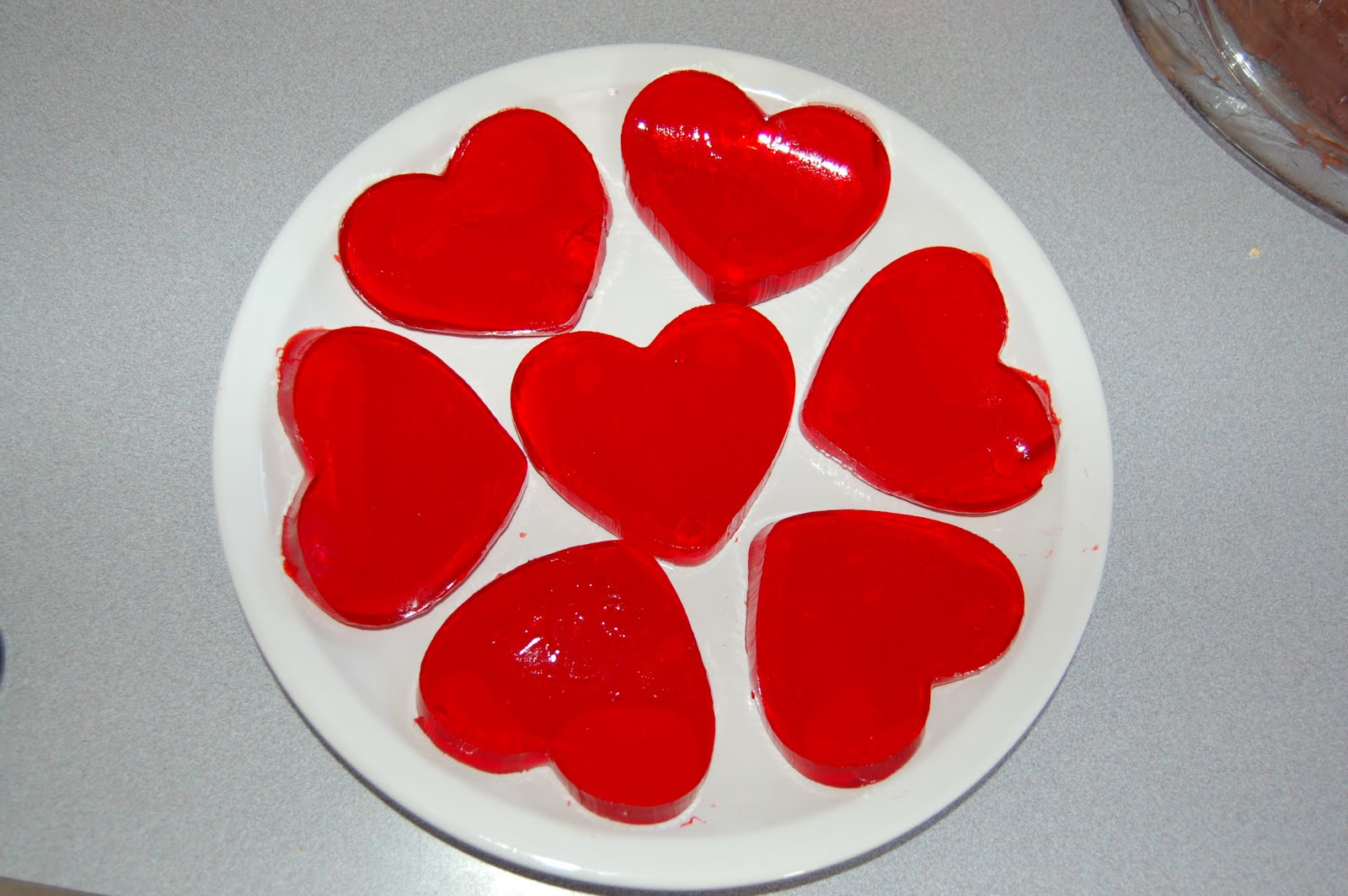 Layered Jell-O Hearts Recipe — Dishmaps