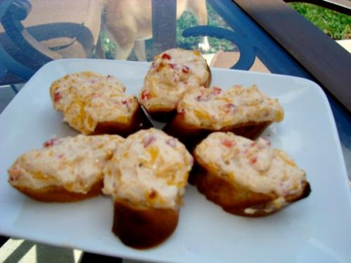 Pimento Cheese Toasts