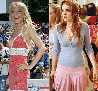 Lindsay Lohan diet secrets
