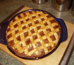 Home made pie