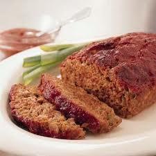 Low Fat Meatloaf — Healthy Meatloaf