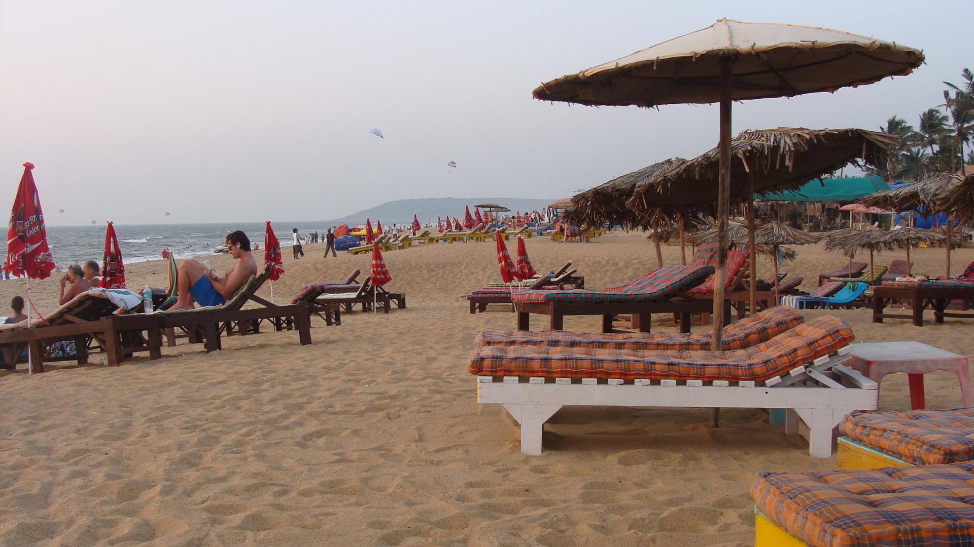 Goan sun beds