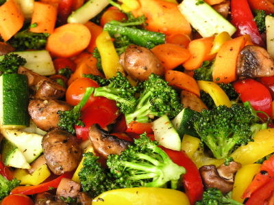 Roasted vegetables - Provencal menu item