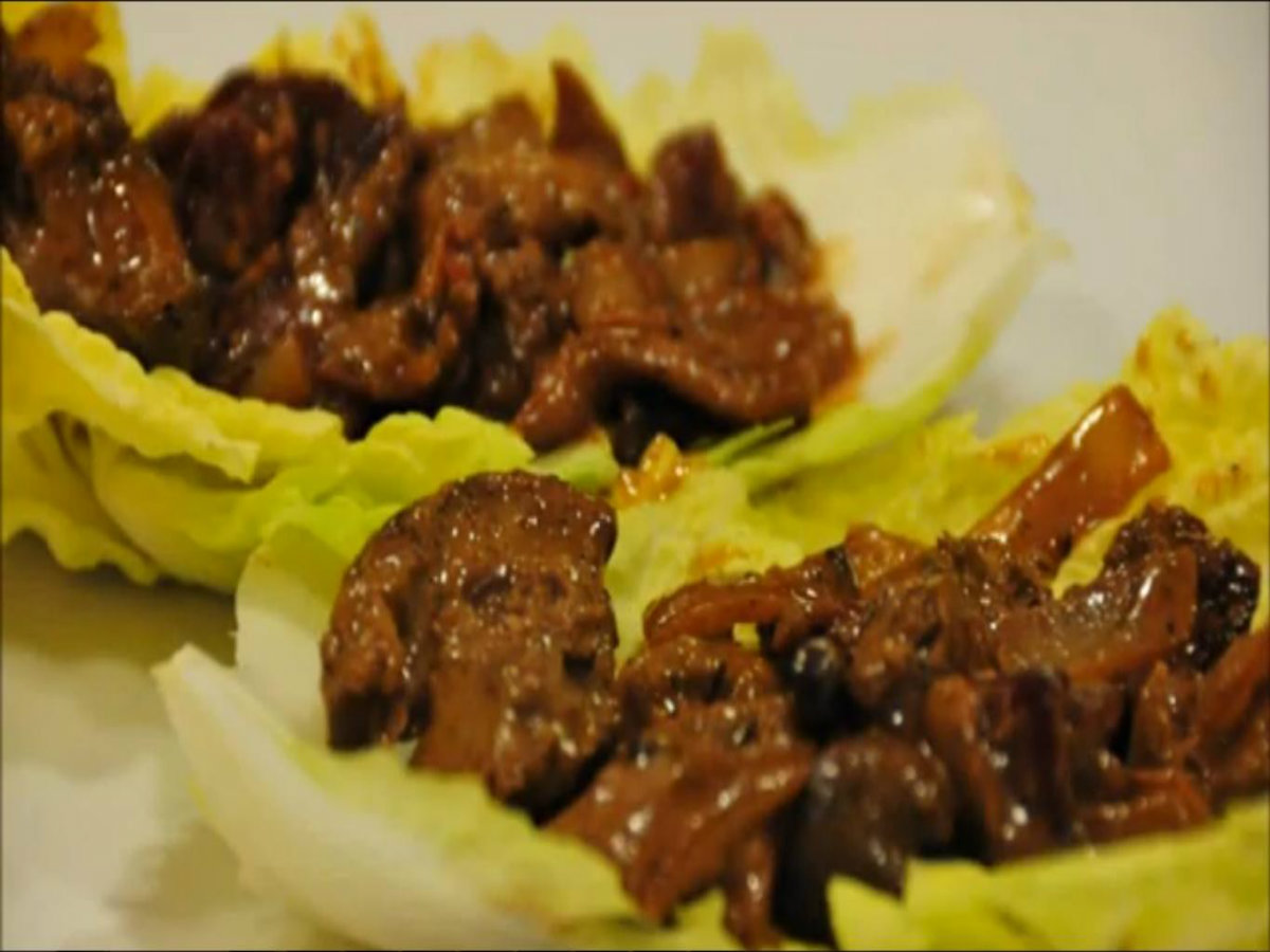 Sauteed Chicken Livers Bacon Sauteed Chicken Livers With
