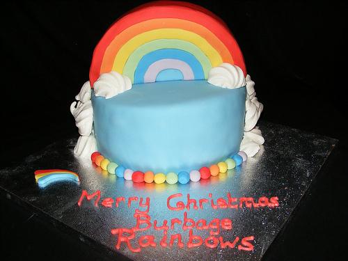 coolest rainbow cakes ideas