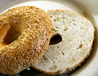bagels are rich in vitamin B