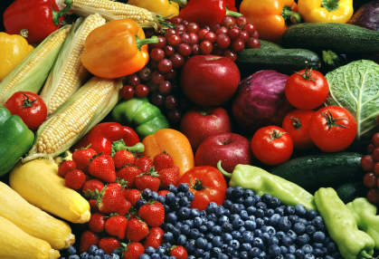 Antioxidant fruits & vegetables