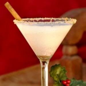 Cinnamon Martini