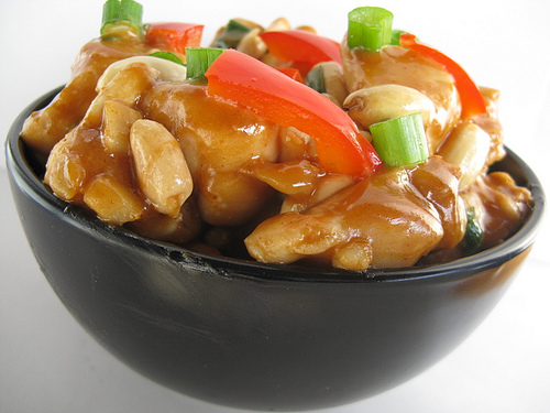 Thai peanut chicken - delicious and healthy