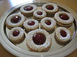Raspberry Linzer Cookies — Dessert For Diabetics