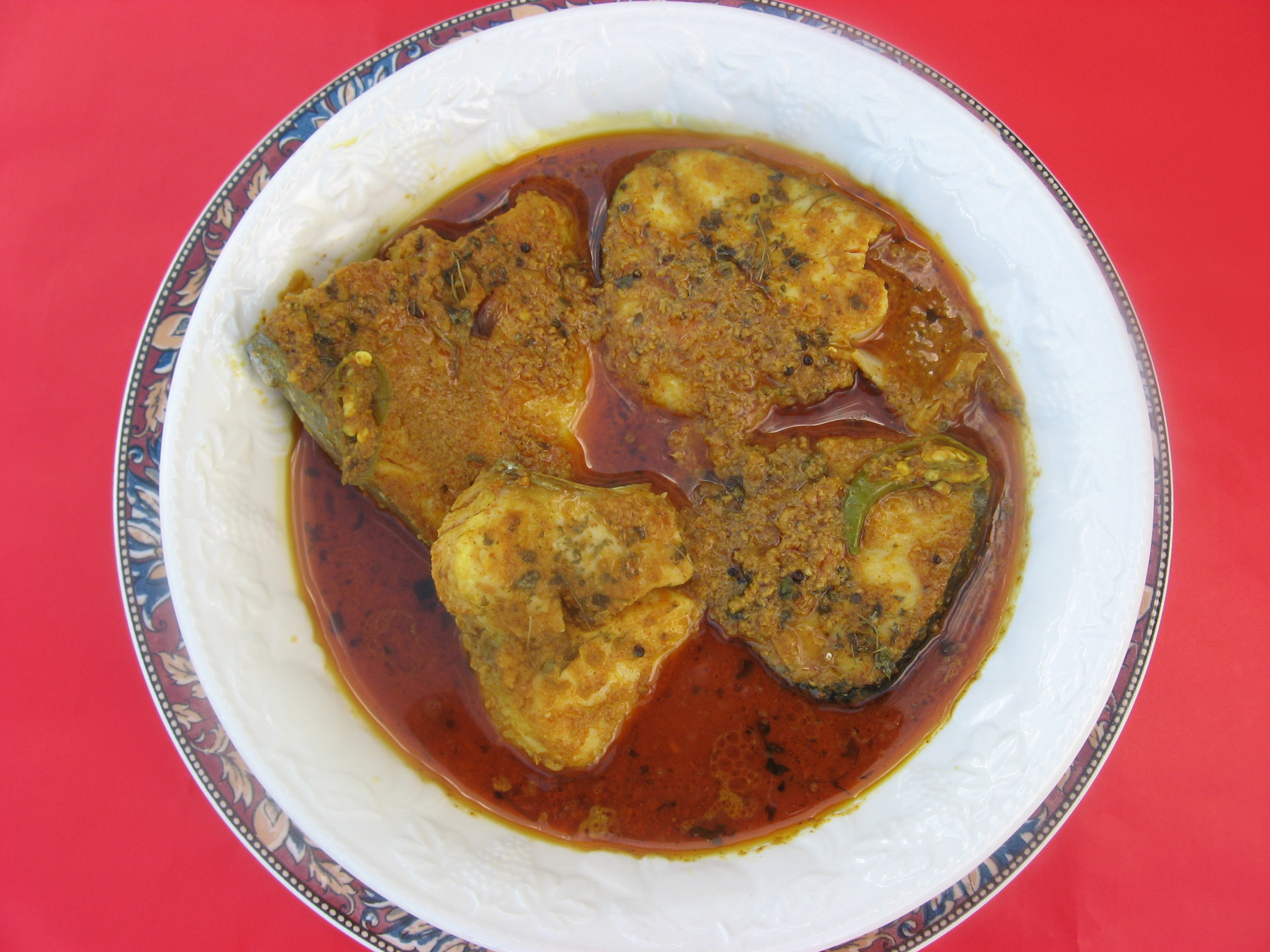 Fish Curry from Sheba's Kitchen Recipe , Main Dish Recipes, Indian Recipes, Fish Recipes