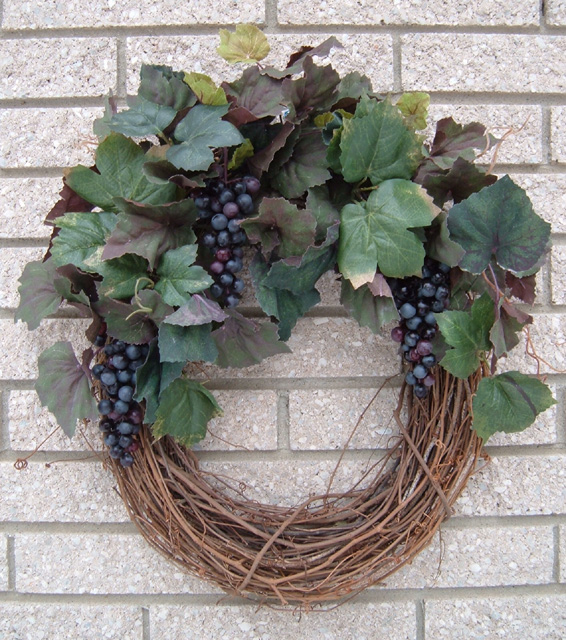 Grape wreath