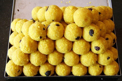 Diwali sweets - ladoos