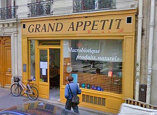 Macrobiotic food at Grand Appetit