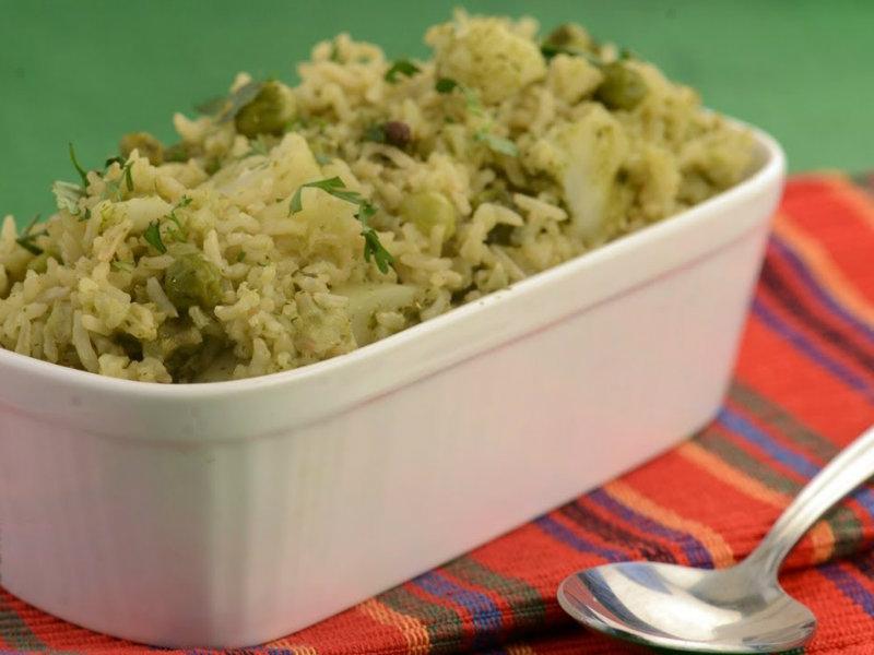 Easy pulao recipe tarla dalal