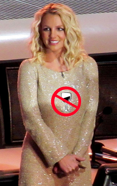 No alcohol for Britney Spears