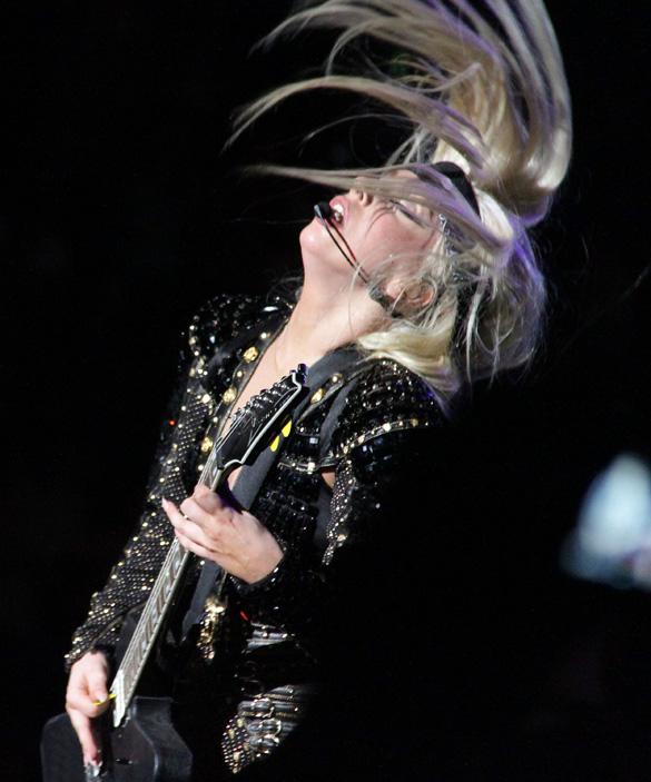 Lady Gaga Puke