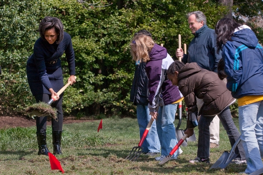 Michelle Obama's kitchen garden