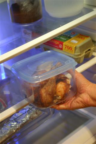Keeping leftovers immediately in fridge saves them from getting spoiled
