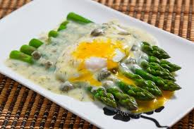 Asparagus Dressing -- Asparagus Salad