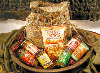 Indian gift basket