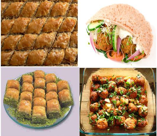 Lebanese Street Food Delicacies