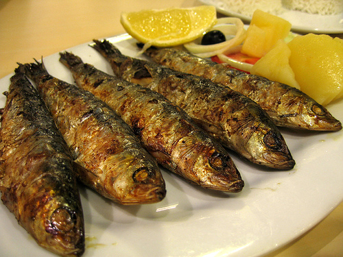 Lisbon Food: Eating Sardines in Lisbon - One Day in a City