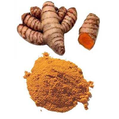 Use turmeric for curing allergies